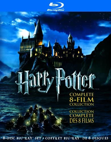 Harry Potter The Complete 8-Film Collection [Blu-ray] (Bilingual)