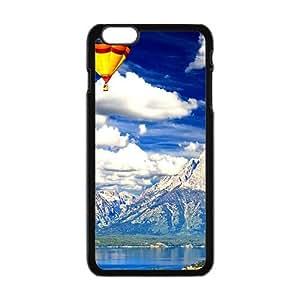 Blue Sky Black Phone Case for iPhone plus 6 Case