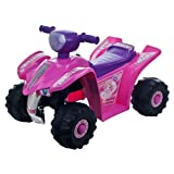 Lil' Rider™ Pink Princess Mini Quad Ride-on Car Four Wheeler