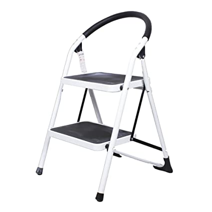 Amazon.com: LXF Step stool Folding Step Stool Living Room ...