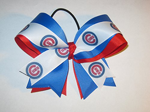 Cubs Hair Bow