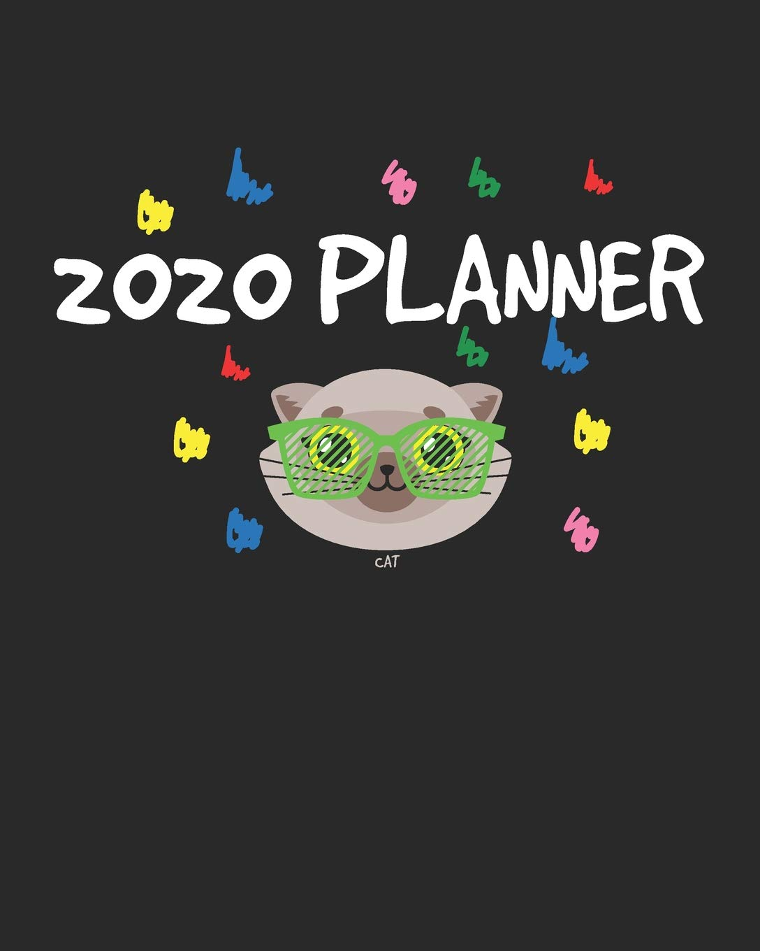 Cat 2020 Planner: January to December Agenda Monthly ...