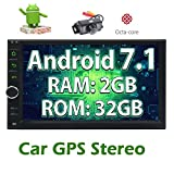 Best Car Stereo Head Units - Free Rear Camera+Android 7.1 2GB 32GB Car Stereo Review