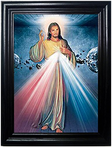 Amazon.com: JESUS ANGEL FRAMED Holographic Wall Art-POSTERS That ...