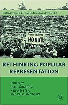Rethinking Popular Representation (Governance, Security and Development)