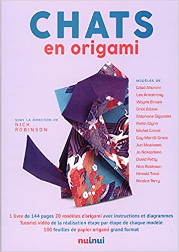 Amazonfr Chats En Origami Nick Robinson Livres