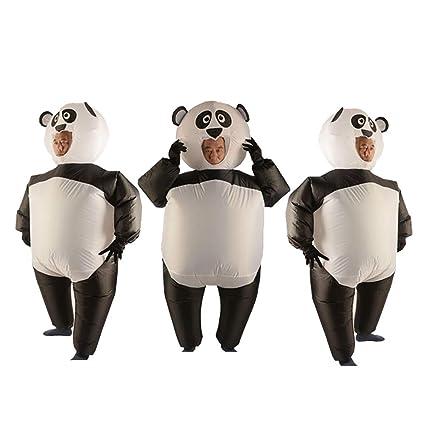 Baoblaze 3 Piezas Traje de Panda Inflable Disfraces Guantes ...