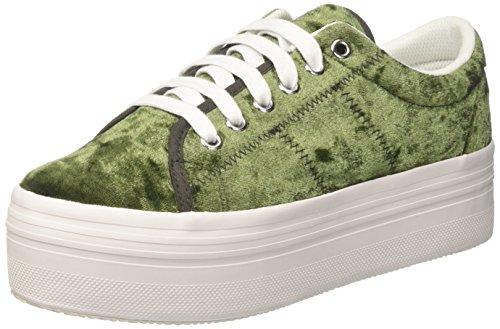 Piattaforma Verde Bianco Verde Della velluto Jcpzomgvelvet Delle Di Sole Sport Pattini Donne Jeffrey Di Campbell qOSv7XRw