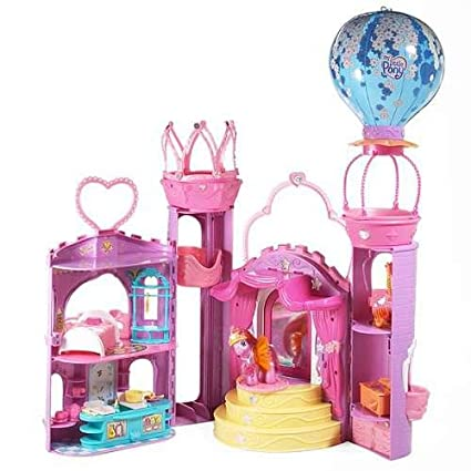 My Little Pony G3: Celebration Castle Playset with Music, Lights and Baby Pony Pink