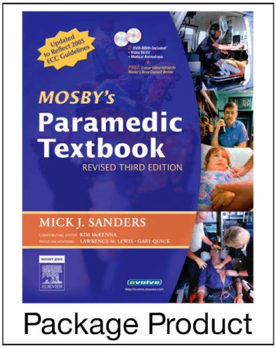Mosby's Paramedic Textbook - Revised Reprint - Text and VPE Package