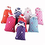 4pcs/lot Natural scented sachet fragrance with variants of Lavander, Jasmine, Vanilla and lotus for Pillow, Wardrobe, Drawer, Closet, Car, Suitcase, Workout Bags