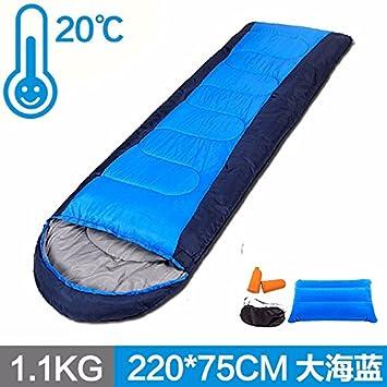 SUHAGN Saco de dormir El Otoño Y El Invierno Al Aire Libre Sleeping Bag Bolsas De