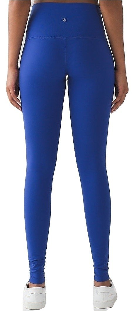 Lululemon Wunder Under Yoga Pants High-Rise (Sapphire Blue, 10)