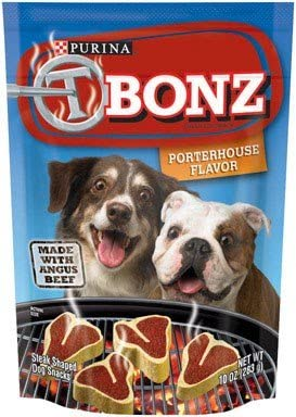 Purina T-Bone Steak Dog Treats Angus Beef with Porterhouse Flavor 6 10 oz. pouches