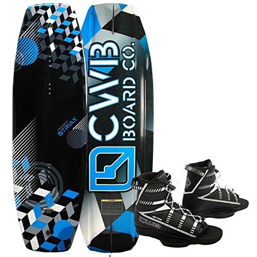 CWB TRIAX 140 Wakeboard Package Optima Wakeboardbindung Blue