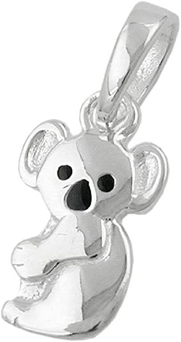 CHARM ANHÄNGER Koala Bär für Ketten Schmuck bunt silberfarben Karabiner Charms