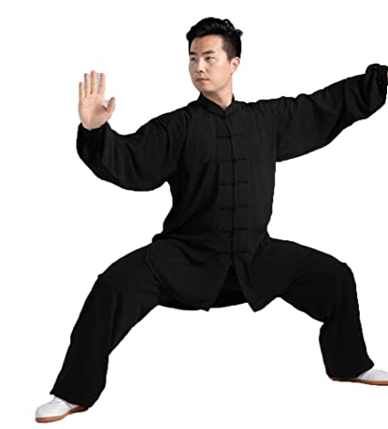 tai chi Mujer Hombre Uniforme Kung Fu Traje Wing Chun Suit ...