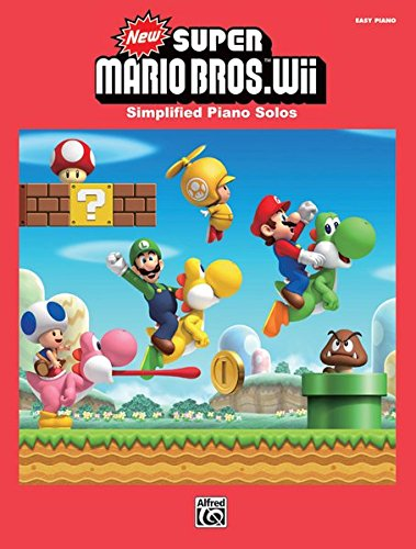 Download New Super Mario Bros. Wii: Simplified Piano Solos pdf epub