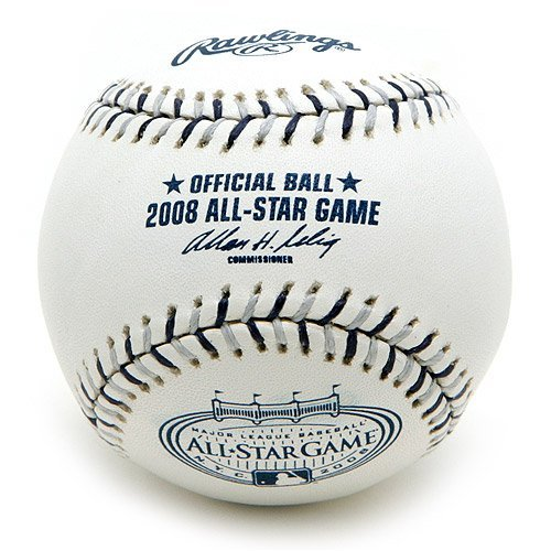 New York Yankees 2008 All Star Game Baseball by Rawlings