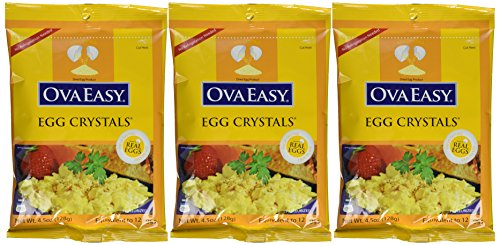 OvaEasy Powdered Whole Eggs (3-pack of 4.5 oz. - Plastic Tigers Crystal