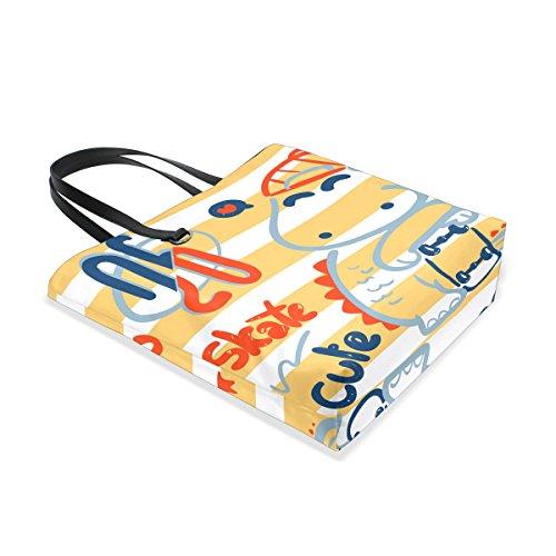 multicolore Mnsruu unique Taille pour 001 Cabas tote femme TqZqAXr