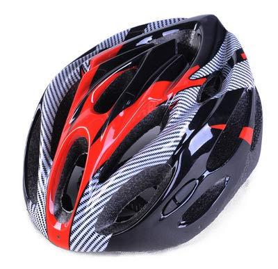 LXFTK Textura de Fibra de Carbono para Montar Casco Bicicleta de ...