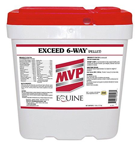 Med Vet Exceed 6 Way Pellets 16lb by Med-Vet Pharmaceuticals
