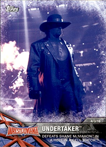 2017-topps-wwe-road-to-wrestlemania-61-undertaker-defeats-shane-mcmahon-in-a-hell-in-a-cell-match