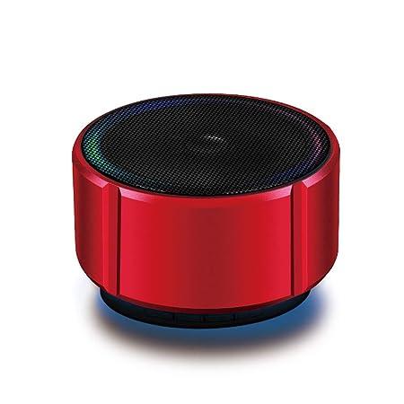 HLKYB Altavoz Bluetooth ultraportátil, Mini subwoofer para ...