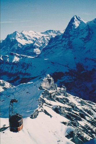 Grindelwald in Bern Canton Switzerland Journal: 150 page lined notebook/diary
