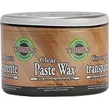 Trewax Paste Wax, Clear, 12.35-Ounce