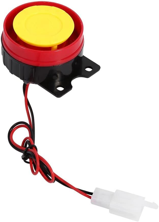 Car Anti-Theft Alarm 12V Waterproof Smart Motorcycle Burglar Security Alarm System with Remote Control and Shock Sensor