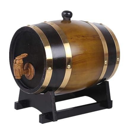 Amazon Com 5l Wine Oak Barrels Brewing Decorative Barrel Keg Bucket