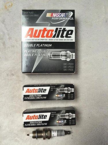 Autolite 6 x doble PLATINUM Bujía 56041402 AB app985 Cherokee XJ 4.0L 1991 - 2001: Amazon.es: Coche y moto