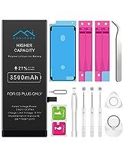 Batterie pour iPhone 6s Plus, Honiture 6s Plus Batterie Interne de Replacement 3500mAh Li-Polymer avec Kit D'outils de Réparation 2 Rubans Adhésifs