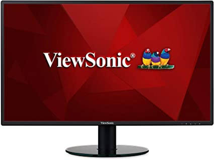 ViewSonic VA2719-SMH 27 Inch IPS 1080p Frameless LED Monitor with HDMI and VGA Inputs for Home and Office Black