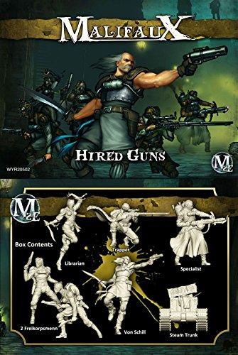 Malifaux: Outcasts Von Schill Box Set - Hired Guns