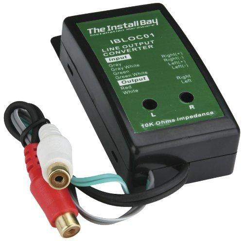 Install Bay IBLOC02 2 Channel Adjustable Line Level Convertor 80 Watt Each - Metra Line