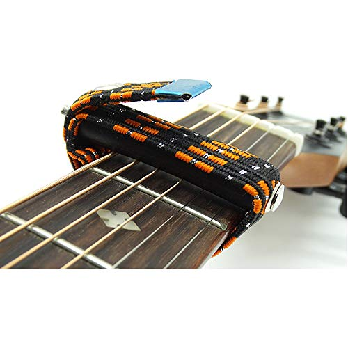 Mehtah Store Capo Electric Guitar On/with/for Folk/Classical/Electric Capotrast Elastic Multifunctional Spreading-in Parts&Accessories