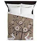 CafePress - Easter Greeting Card. Raster Version O - Queen Duvet Cover, Printed Comforter Cover, Unique Bedding, Microfiber