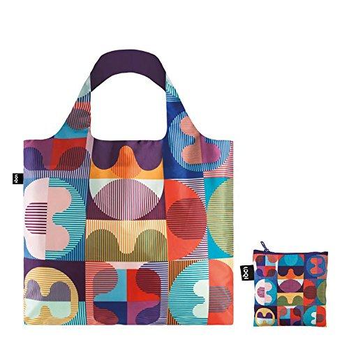 cm 50 Sac Plage 20 Multicolore Grid Hvass amp; de LOQI Bag Artist liters Hannibal Multicolour 4xCBwxqFv