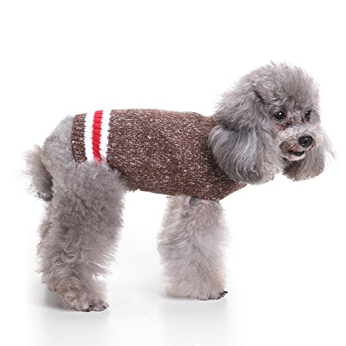 S-Lifeeling European-style Dog Sweater Holiday Halloween Christmas Pet Clothes Soft Comfortable Dog Clothes