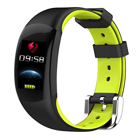 Amazon.com: YWYU Smart Watch LEMFO LT02 Smart Band 2 IP68 ...