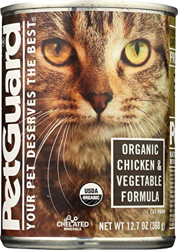 PetGuard, Organic Chicken and Vegetable Entree, (Qty1) 12.7 Ounce Can Cat Food ()