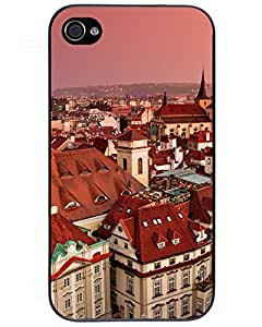 New Premium Roofs in Prague Chech Republic Skin Case Cover Excellent Fitted For iPhone 4/4s 7374898ZE923674739I4S Comics Iphone4s Case's Shop