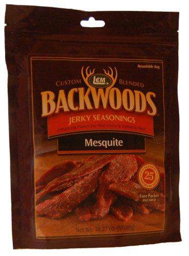 Backwoods Mesquite Seasoning with Cure Packet Mesquite Jerky Seasoning