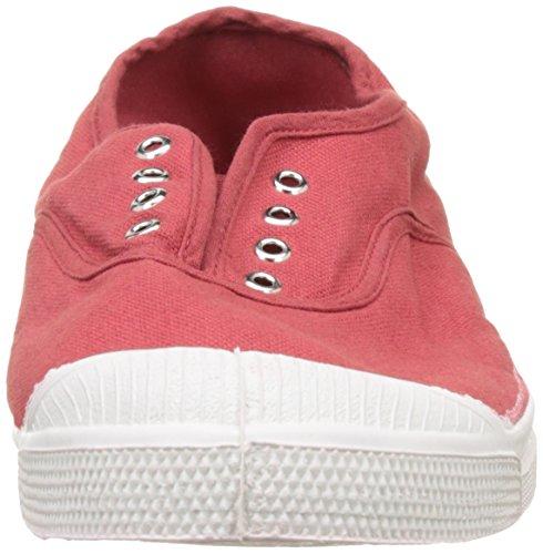 Bensimon Tennis Elly Femme, Zapatillas de Deporte de lona Mujer Rojo (Rouge)