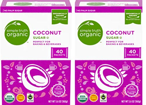 Simple Organic Coconut Individual Packets