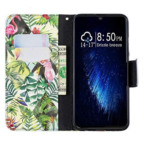 Smart Diseño p Verde Honor Flores Cartera 2019 10 Huawei Para De Mano Lite Hombre Meganstore qZTxwAXOA