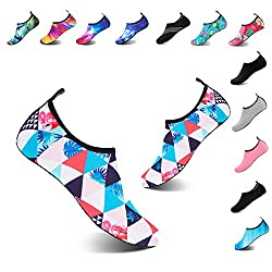 Yalox Water Shoes Women S Men S Outdoor Beach Swimming Aqua Socks Quick Dry Barefoot Shoes For Surfing Yoga Pool Exercise Bird Gz 42 43eu